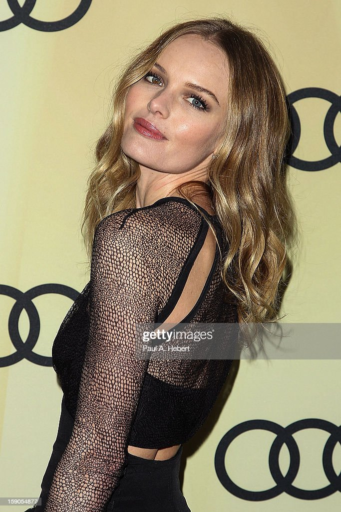 Actress Kate Bosworth arrives at the Audi Golden Globe 2013 Kick Off Party at Cecconi's Restaurant on January 6, 2013 in Los Angeles, California.