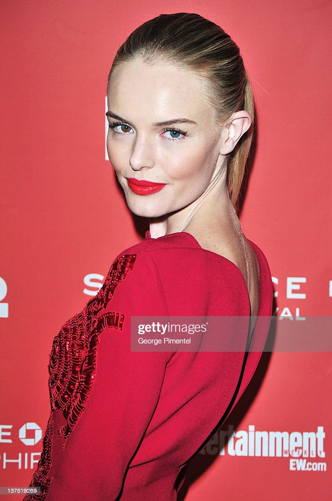 Actress <a gi-track='captionPersonalityLinkClicked' href=/galleries/search?phrase=Kate+Bosworth&family=editorial&specificpeople=201616 ng-click='$event.stopPropagation()'>Kate Bosworth</a> arrives at the 'Black Rock' Premiere during the 2012 Sundance Film Festival at Library Center Theater on January 21, 2012 in Park City, Utah.
