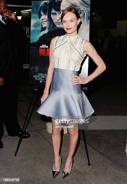 Actress Kate Bosworth arrives at the Los Angeles Premiere 'Black Rock' at ArcLight Hollywood on May 8 2013 in Hollywood California