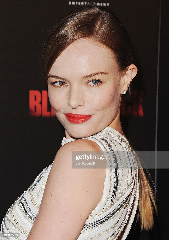 Actress <a gi-track='captionPersonalityLinkClicked' href=/galleries/search?phrase=Kate+Bosworth&family=editorial&specificpeople=201616 ng-click='$event.stopPropagation()'>Kate Bosworth</a> arrives at the Los Angeles Premiere 'Black Rock' at ArcLight Hollywood on May 8, 2013 in Hollywood, California.