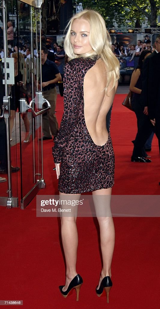 Actress Kate Bosworth arrives at the UK premiere of 'Superman Returns' at Odeon Leicester Square on July 13 2006 in London England