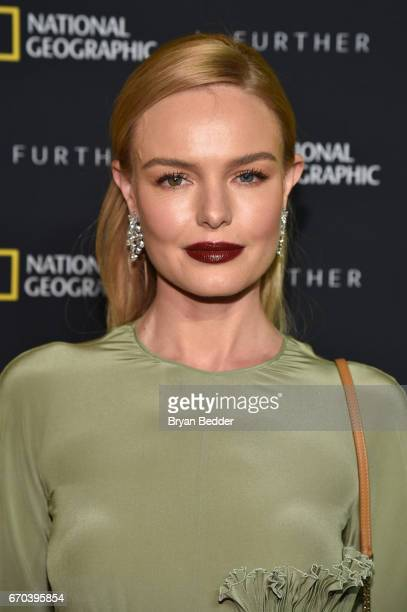Actress Kate Bosworth at National Geographic's Further Front Event at Jazz at Lincoln Center on April 19 2017 in New York City