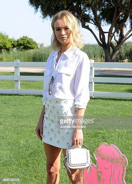 Actress Kate Bosworth attends Coach Backstage at Soho Desert House on April 10 2015 in La Quinta California