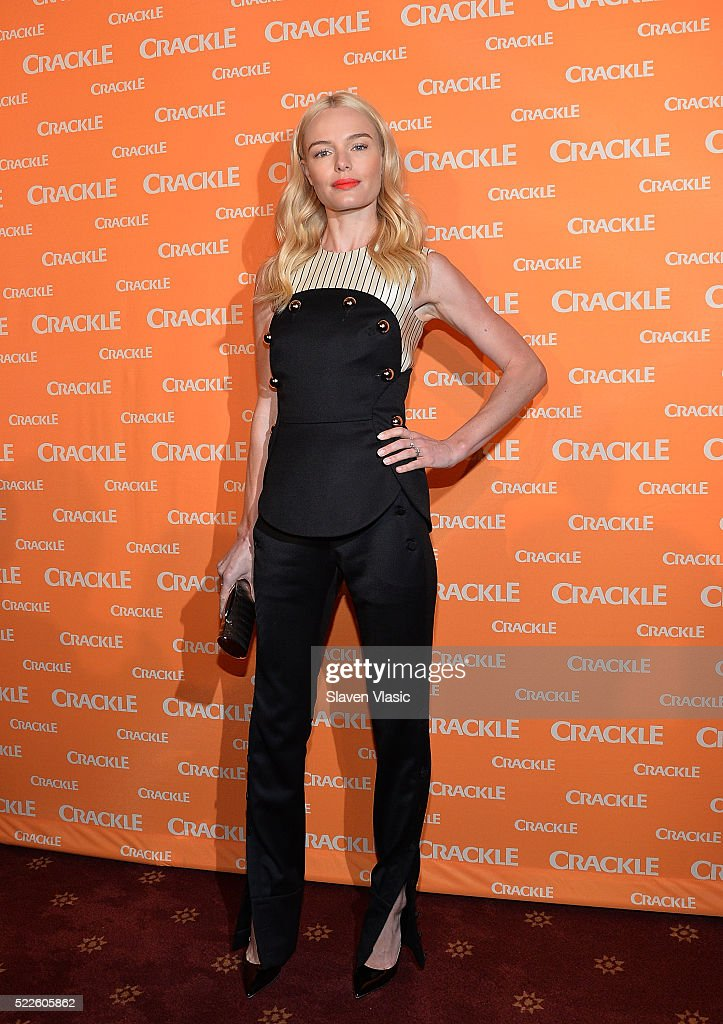 Actress Kate Bosworth attends Crackle's 2016 Upfront Presentation at New York City Center on April 20 2016 in New York City