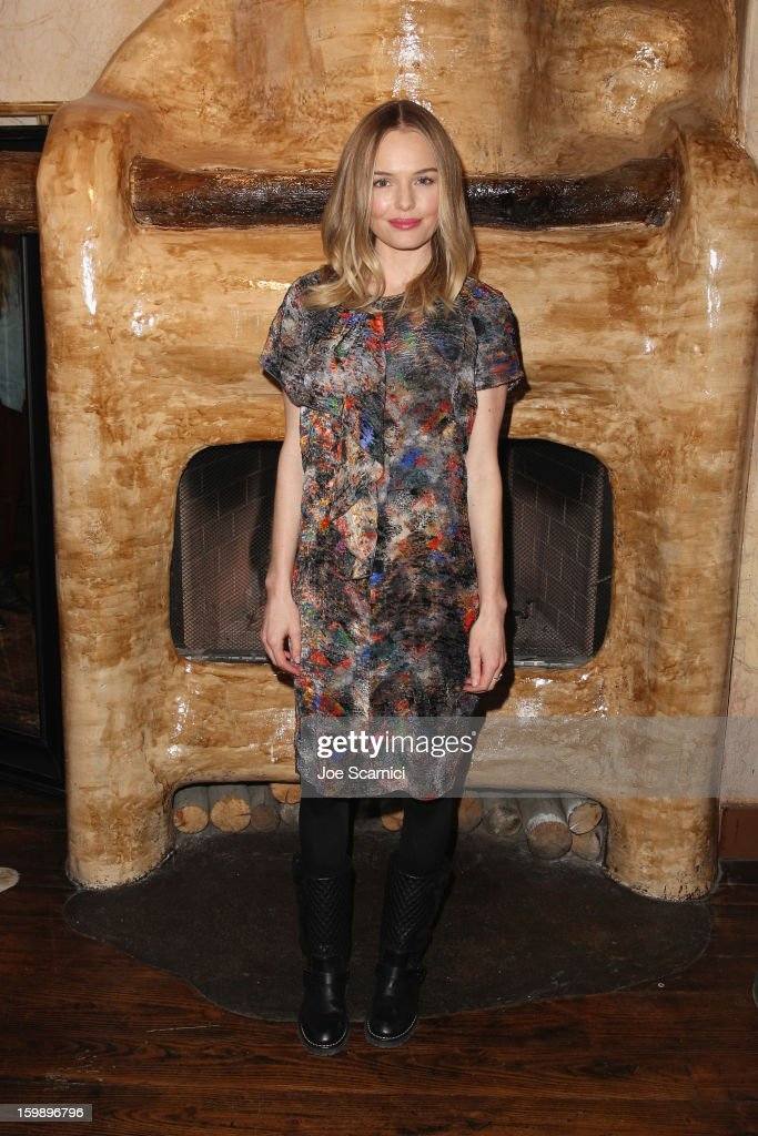 Actress <a gi-track='captionPersonalityLinkClicked' href=/galleries/search?phrase=Kate+Bosworth&family=editorial&specificpeople=201616 ng-click='$event.stopPropagation()'>Kate Bosworth</a> attends Day 4 of the Variety Studio at 2013 Sundance Film Festival on January 22, 2013 in Park City, Utah.