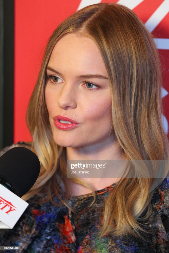 Actress Kate Bosworth attends Day 4 of the Variety Studio at 2013 Sundance Film Festival on January 22, 2013 in Park City, Utah.
