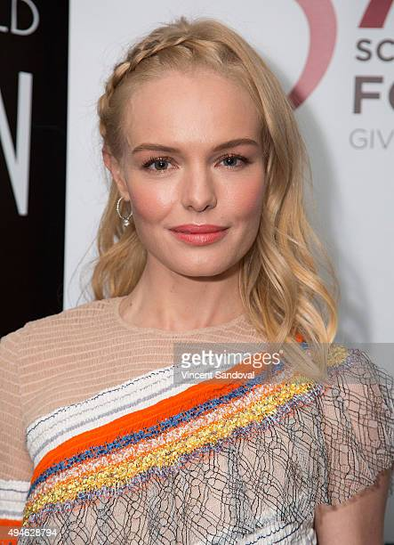 Actress Kate Bosworth attends SAG Foundation's 'Conversations' series screening of 'The Art Of More' at SAG Foundation Actors Center on October 27...