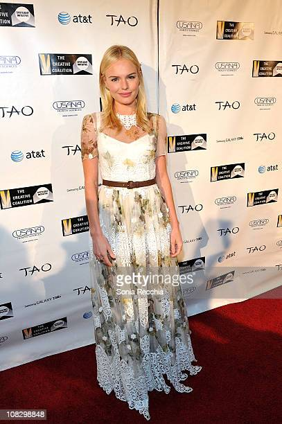 Actress Kate Bosworth attends the 2011 Creative Coalition Spotlight Initiative Awards at TAO at the Samsung Galaxy Tab Lift during the 2011 Sundance...