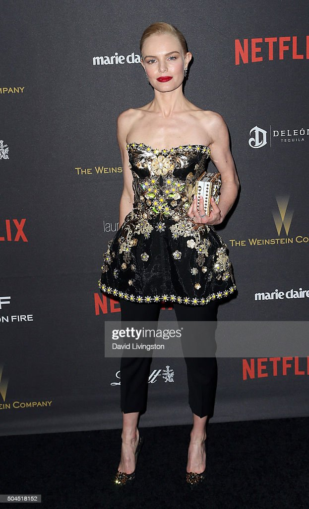 Actress Kate Bosworth attends the 2016 Weinstein Company and Netflix Golden Globes after party on January 10, 2016 in Los Angeles, California.