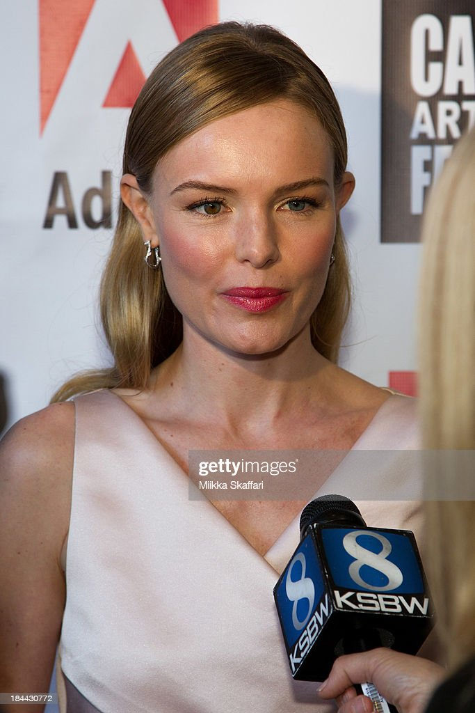 Actress <a gi-track='captionPersonalityLinkClicked' href=/galleries/search?phrase=Kate+Bosworth&family=editorial&specificpeople=201616 ng-click='$event.stopPropagation()'>Kate Bosworth</a> attends the 5th Annual Carmel Art & Film Festival at Sunset Cultural Arts Center on October 13, 2013 in Carmel, California.