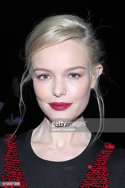 Actress Kate Bosworth attends the Altuzarra Fall 2016 fashion show during New York Fashion Week at Spring Studios on February 13 2016 in New York City