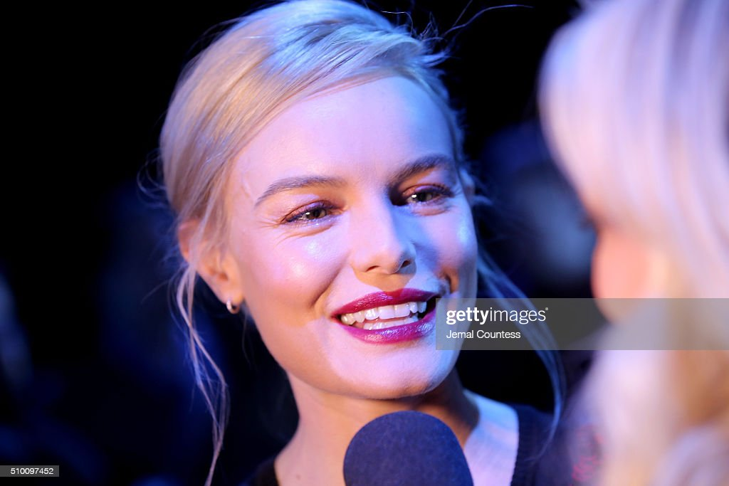 Actress <a gi-track='captionPersonalityLinkClicked' href=/galleries/search?phrase=Kate+Bosworth&family=editorial&specificpeople=201616 ng-click='$event.stopPropagation()'>Kate Bosworth</a> attends the Altuzarra Fall 2016 fashion show during New York Fashion Week at Spring Studios on February 13, 2016 in New York City.