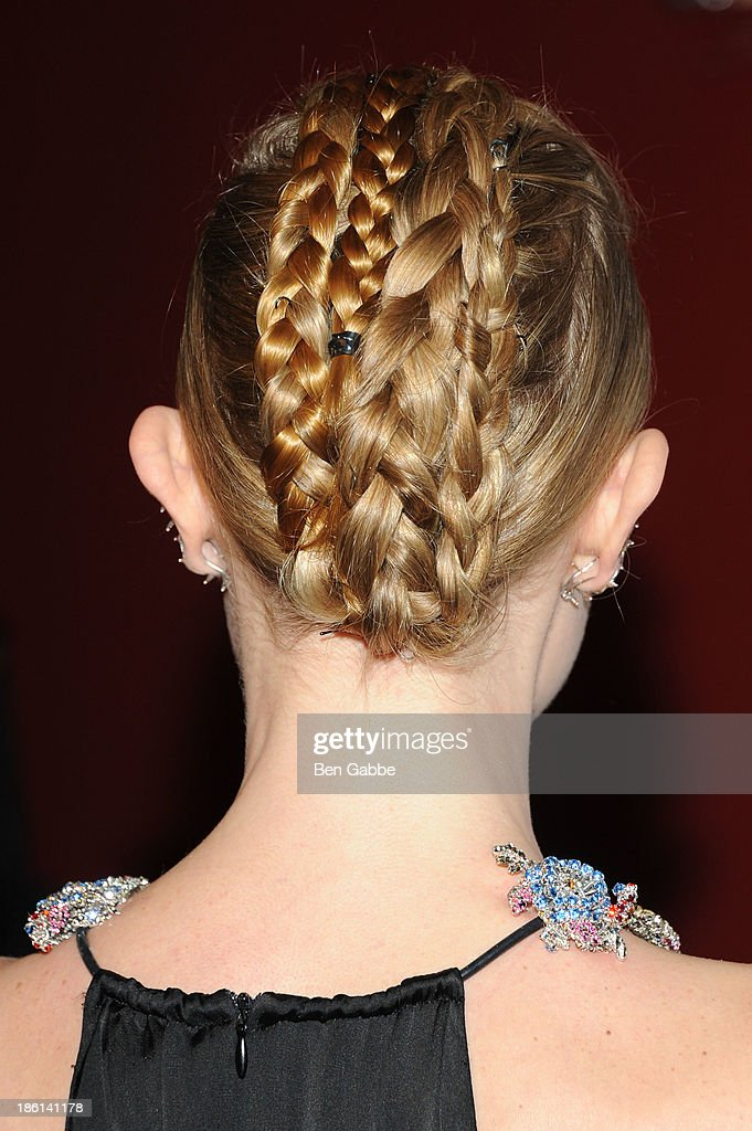 Actress Kate Bosworth (hair detail) attends the 'Big Sur' premiere at Sunshine Landmark on October 28, 2013 in New York City.