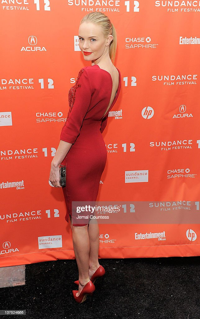 Actress Kate Bosworth attends the 'Black Rock' premiere during the 2012 Sundance Film Festival held at Library Center Theater on January 21, 2012 in Park City, Utah.