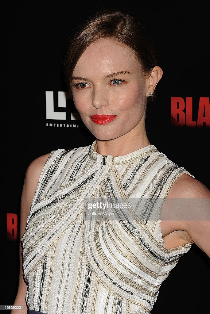 Actress <a gi-track='captionPersonalityLinkClicked' href=/galleries/search?phrase=Kate+Bosworth&family=editorial&specificpeople=201616 ng-click='$event.stopPropagation()'>Kate Bosworth</a> attends the 'Black Rock' Premiere held at ArcLight Hollywood on May 8, 2013 in Hollywood, California.