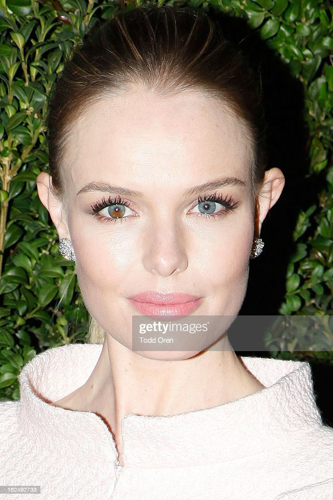 Actress <a gi-track='captionPersonalityLinkClicked' href=/galleries/search?phrase=Kate+Bosworth&family=editorial&specificpeople=201616 ng-click='$event.stopPropagation()'>Kate Bosworth</a> attends the CHANEL Pre-Oscar Dinner at Madeo Restaurant on February 23, 2013 in Los Angeles, California.