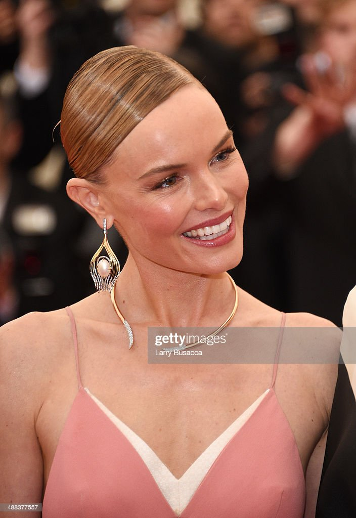 Actress Kate Bosworth attends the 'Charles James Beyond Fashion' Costume Institute Gala at the Metropolitan Museum of Art on May 5 2014 in New York...