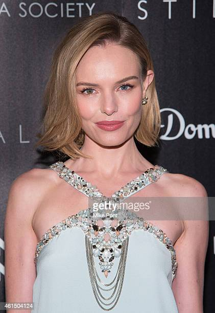 Actress Kate Bosworth attends The Cinema Society with Montblanc and Dom Perignon host a screening of Sony Pictures Classics' 'Still Alice' at...