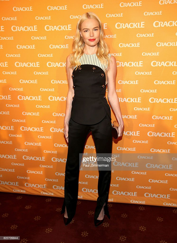 Actress Kate Bosworth attends the Crackle's 2016 Upfront Presentation at New York City Center on April 20 2016 in New York City