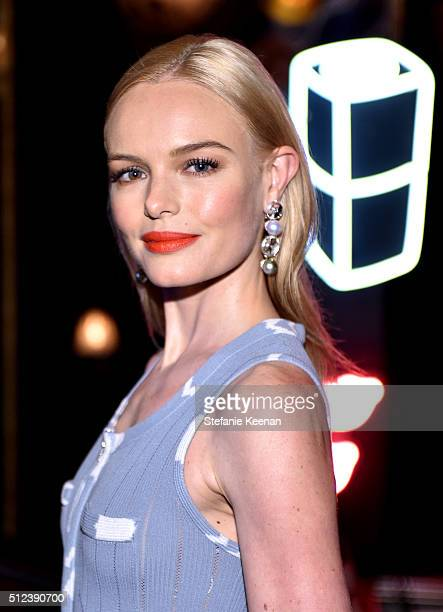 Actress Kate Bosworth attends the I Love Coco Backstage Beauty Lounge at Chateau Marmont's Bar Marmont on February 25 2016 in Hollywood California