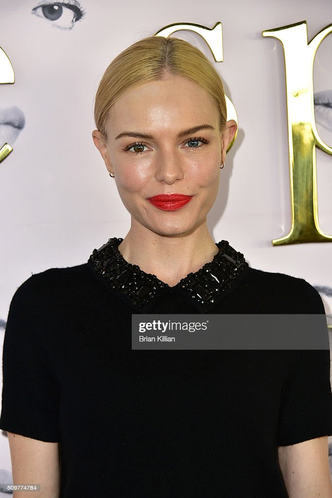Actress <a gi-track='captionPersonalityLinkClicked' href=/galleries/search?phrase=Kate+Bosworth&family=editorial&specificpeople=201616 ng-click='$event.stopPropagation()'>Kate Bosworth</a> attends the Kate Spade New York Fall 2016 Presentation during New York Fashion Week at The Rainbow Room on February 12, 2016 in New York City.