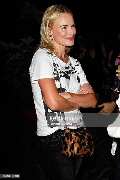 Actress Kate Bosworth attends the Mulberry LA Pool Party Bash celebrating the A/W 2010 Collection at Chateau Marmont on July 20 2010 in Los Angeles...
