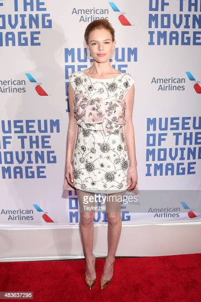 Actress Kate Bosworth attends the Museum Of The Moving Image 28th Annual Salute Honoring Kevin Spacey at 583 Park Avenue on April 9 2014 in New York...