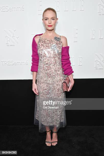 Actress Kate Bosworth attends the NYFW Kickoff Party A Celebration Of Personal Style hosted by E ELLE IMG and sponsored by TRESEMME on September 6...
