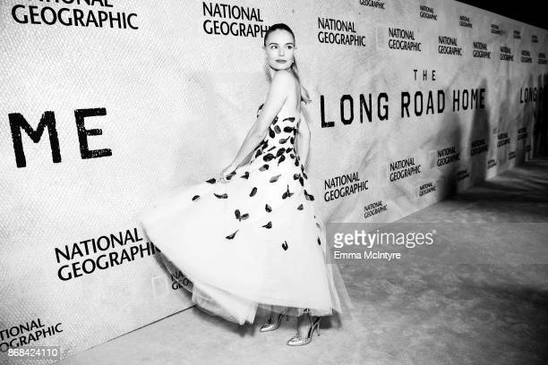 Actress Kate Bosworth attends the premiere of National Geographic's 'The Long Road Home' at Royce Hall on October 30 2017 in Los Angeles California