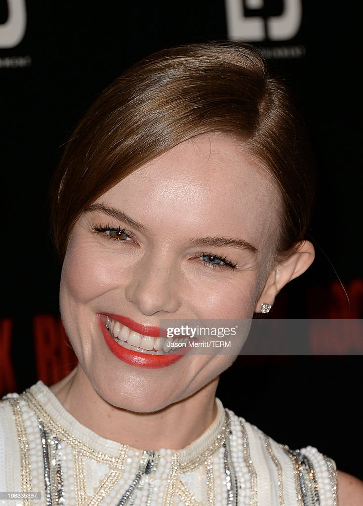 Actress Kate Bosworth attends the screening of LD Entertainment's 'Black Rock' at ArcLight Hollywood on May 8, 2013 in Hollywood, California.