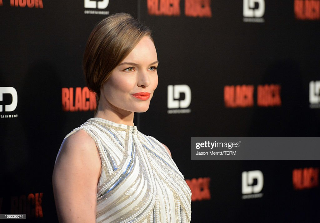 Actress <a gi-track='captionPersonalityLinkClicked' href=/galleries/search?phrase=Kate+Bosworth&family=editorial&specificpeople=201616 ng-click='$event.stopPropagation()'>Kate Bosworth</a> attends the screening of LD Entertainment's 'Black Rock' at ArcLight Hollywood on May 8, 2013 in Hollywood, California.
