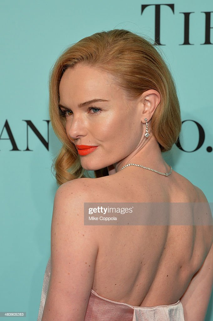 Actress Kate Bosworth attends the Tiffany Debut of the 2014 Blue Book on April 10, 2014 at the Guggenheim Museum in New York, United States.