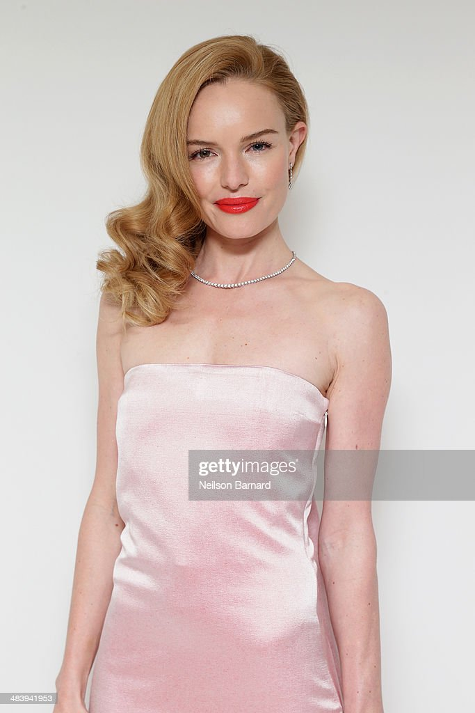 Actress <a gi-track='captionPersonalityLinkClicked' href=/galleries/search?phrase=Kate+Bosworth&family=editorial&specificpeople=201616 ng-click='$event.stopPropagation()'>Kate Bosworth</a> attends the Tiffany Debut of the 2014 Blue Book on April 10, 2014 at the Guggenheim Museum in New York, United States.