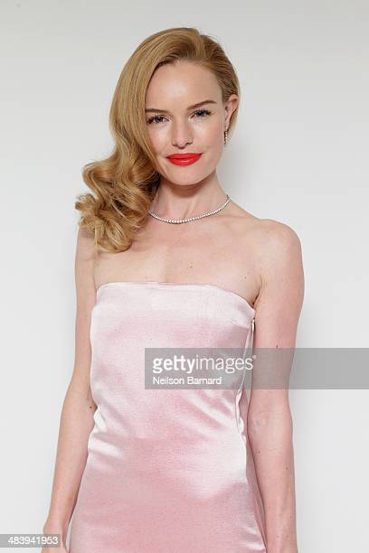 Actress Kate Bosworth attends the Tiffany Debut of the 2014 Blue Book on April 10 2014 at the Guggenheim Museum in New York United States