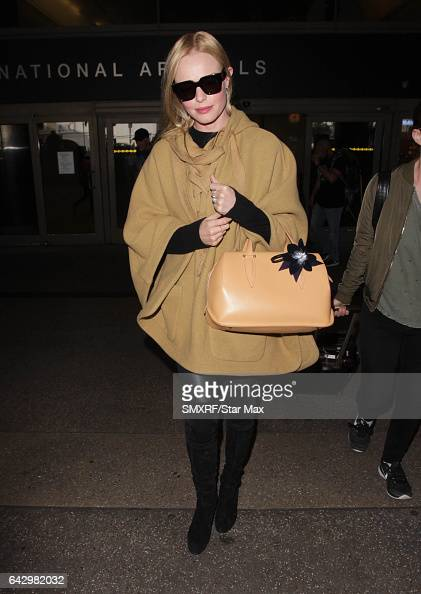 Actress Kate Bosworth is seen on February 19 2017 in Los Angeles California