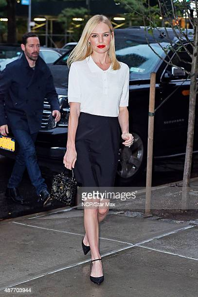Actress Kate Bosworth is seen on September 10 2015 in New York City