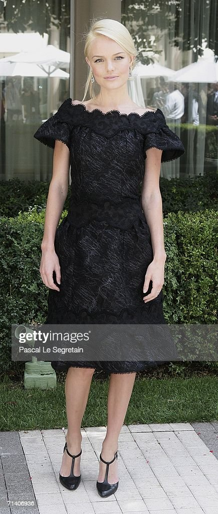 Actress Kate Bosworth poses during a photo call for the Bryan Singer's film 'Superman Returns' at the Bristol hotel on July 10 2006 in Paris France