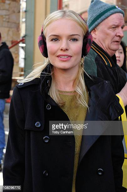 Actress Kate Bosworth seen on Main Street during the 2011 Sundance Film Festival on January 24 2011 in Park City Utah