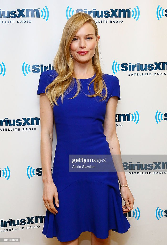 Actress Kate Bosworth visits the SiriusXM Studios on October 28, 2013 in New York City.