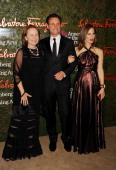 Actress Kate Burton actor Tony Goldwyn and artist Liz Goldwyn arrive at the Wallis Annenberg Center For The Performing Arts Inaugural Gala at Wallis...