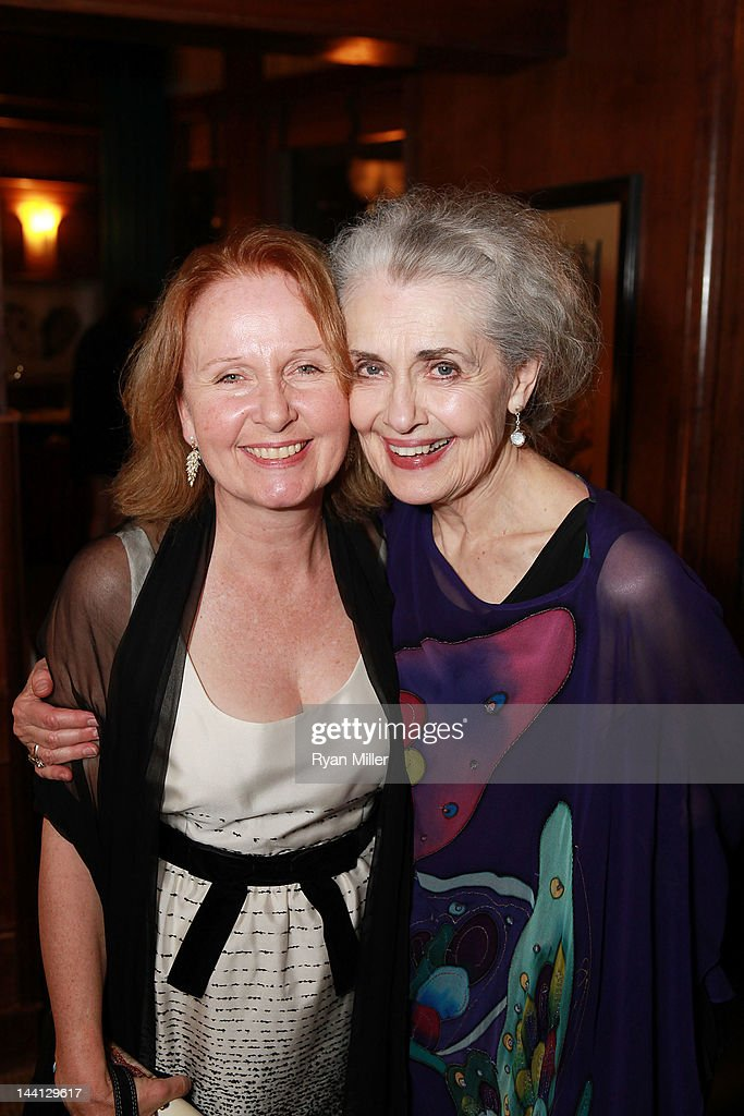 Actress <a gi-track='captionPersonalityLinkClicked' href=/galleries/search?phrase=Kate+Burton&family=editorial&specificpeople=215100 ng-click='$event.stopPropagation()'>Kate Burton</a> (L) and cast member <a gi-track='captionPersonalityLinkClicked' href=/galleries/search?phrase=Mary+Beth+Peil&family=editorial&specificpeople=2582973 ng-click='$event.stopPropagation()'>Mary Beth Peil</a> (R) pose during the party for the opening night performance of 'Follies' at Center Theatre Group/Ahmanson Theatre on May 10, 2012 in Los Angeles, California.