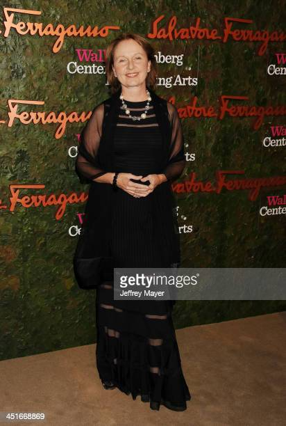 Actress Kate Burton arrives at the Wallis Annenberg Center For The Performing Arts Inaugural Gala at Wallis Annenberg Center for the Performing Arts...