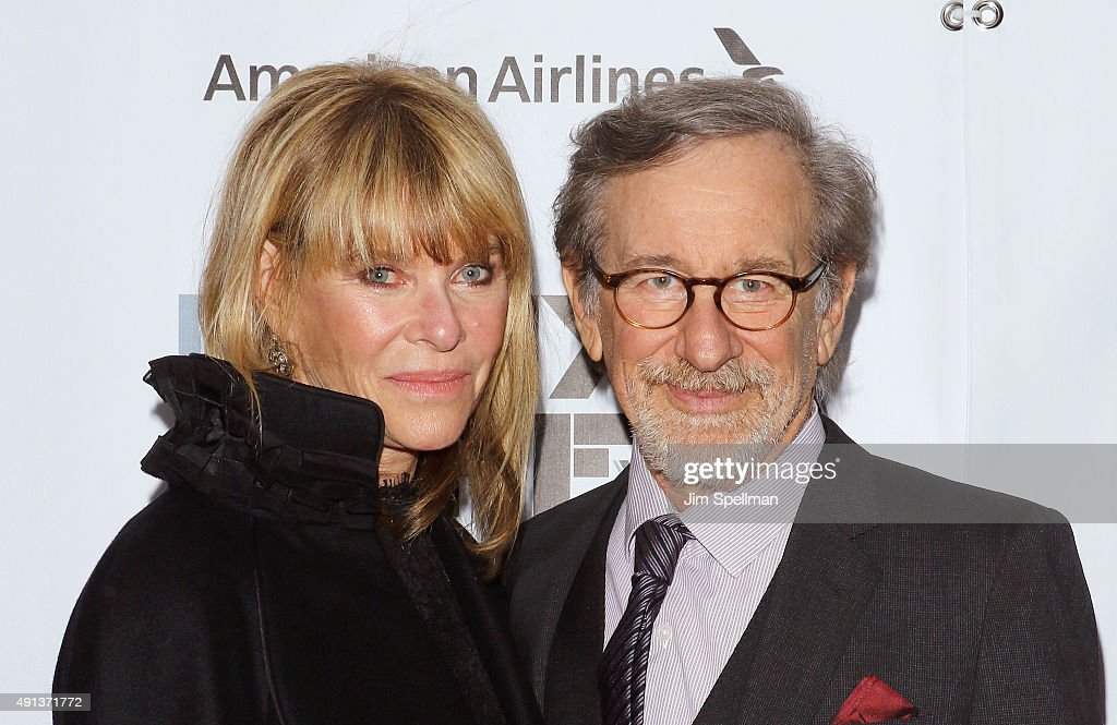 Actress Kate Capshaw, director/producer Steven Spielberg attend the 53rd New York Film Festival premiere of 'Bridge Of Spies' at Alice Tully Hall, Lincoln Center on October 4, 2015 in New York City.