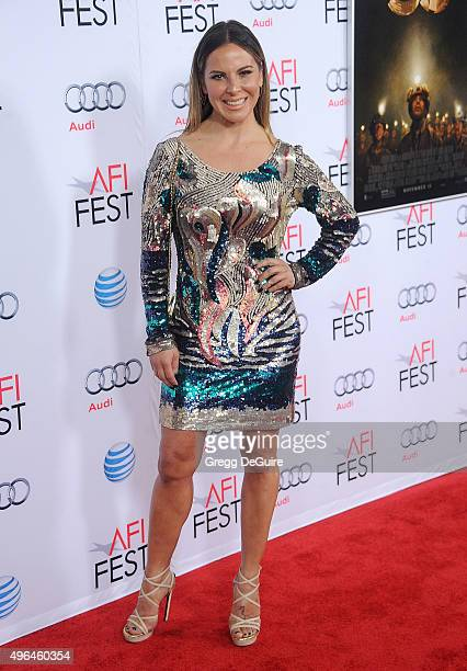 Actress Kate del Castillo arrives at the AFI FEST 2015 Presented By Audi Centerpiece Gala Premiere of 'The 33' at TCL Chinese Theatre on November 9...