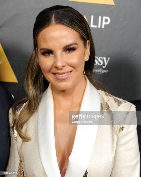 Actress Kate del Castillo arrives at the NALIP 2017 Latino Media Awards at The Ray Dolby Ballroom at Hollywood Highland Center on June 24 2017 in...