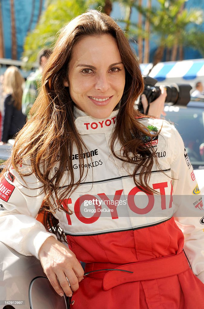 Actress Kate del Castillo at the 36th Annual 2012 Toyota Pro/Celebrity Race on April 14, 2012 in Long Beach, California.