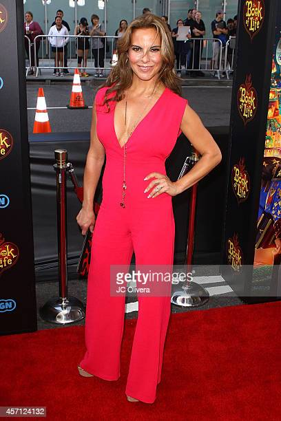 Actress Kate Del Castillo attends 'The Book Of Life' Los Angeles premiere at Regal 14 at LA Live Downtown on October 12 2014 in Los Angeles California