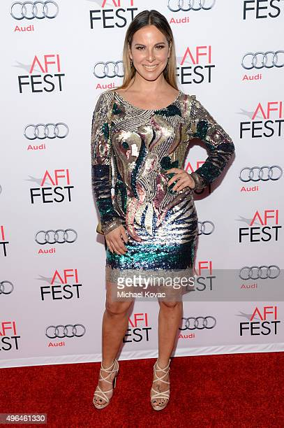 Actress Kate del Castillo attends the Centerpiece Gala Premiere of Alcon Entertainment's 'The 33' during AFI FEST 2015 presented by Audi at TCL...