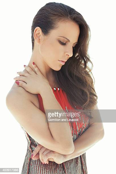 Actress Kate del Castillo is photographed for Self Assignment on June 23 2011 in Los Angeles California