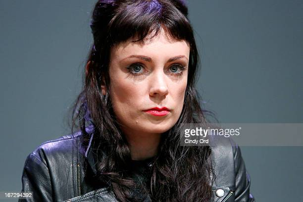 Actress Kate Elliott attends Meet the Filmmaker 'Fresh Meat' during the 2013 Tribeca Film Festival at the Apple Store Soho on April 23 2013 in New...